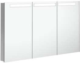 Speilskap for innbygging, 130 cm
