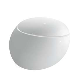 Toalettskål for vegg (Uten sete)