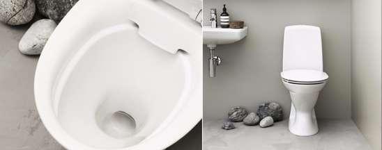 Bedre hygiene med nytt toalettsete