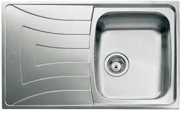 Kjøkkenvask UNI100D-WT