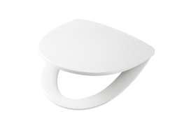 Toalettsete I Hardplast Med Quick Relase/Faste Beslag