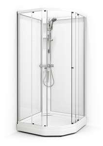 Dusjkabinett, 101x101 cm