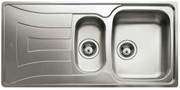 Kjøkkenvask UNI150D-WT