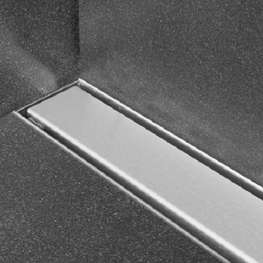 Linje sluk, 900x75 mm