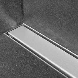 Linje sluk, 800x75 mm