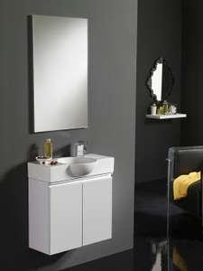 Møbelpakke 60cm hvit høyglans