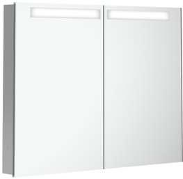 Speilskap for innbygging, 80 cm